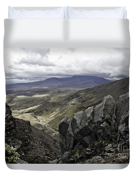 Somewhere In New Zealand Duvet Cover