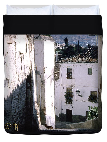 Somewhere In Rural Spain Duvet Cover