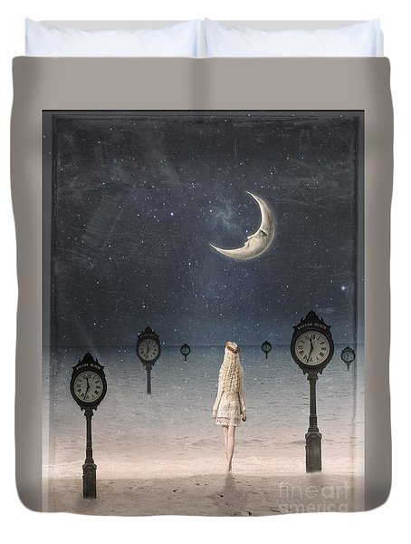 Somewhere In Time Duvet Cover