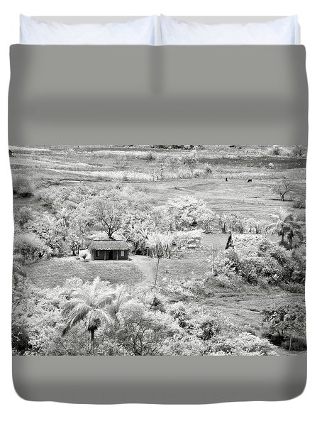 Somewhere In Vinales Duvet Cover by Eduard Moldoveanu