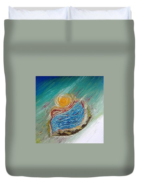 Somewhere There Is A Wonderful World ... Duvet Cover