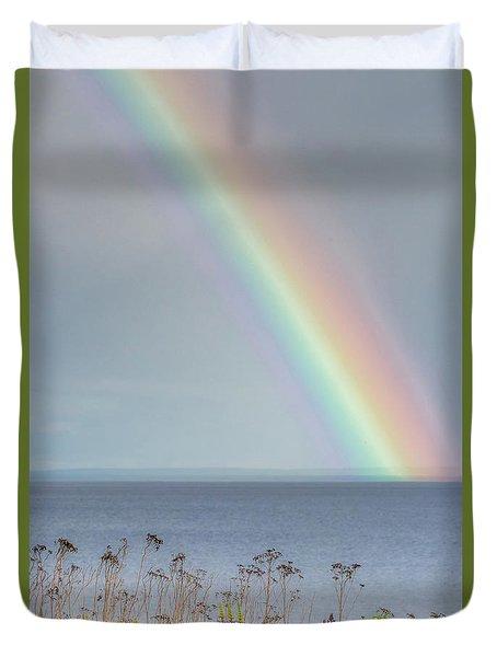 Somewhere Under The Rainbow Duvet Cover