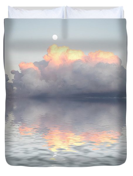 Son Of Zeus Duvet Cover by Jerry McElroy