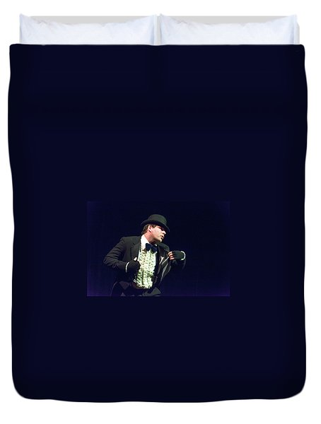 Song And Dance Man Duvet Cover