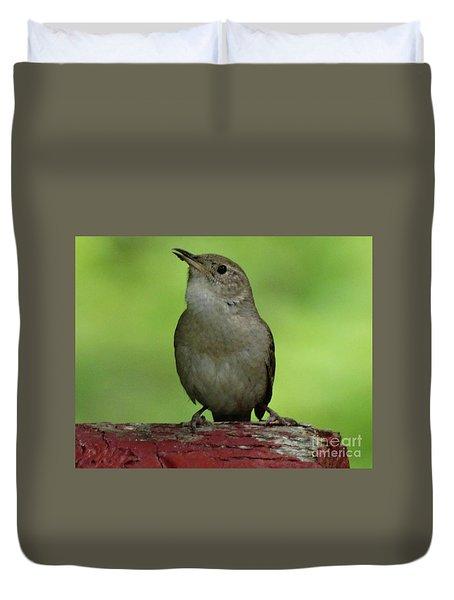 Song Bird Duvet Cover