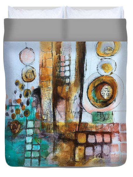 Song Duvet Cover by Karin Husty