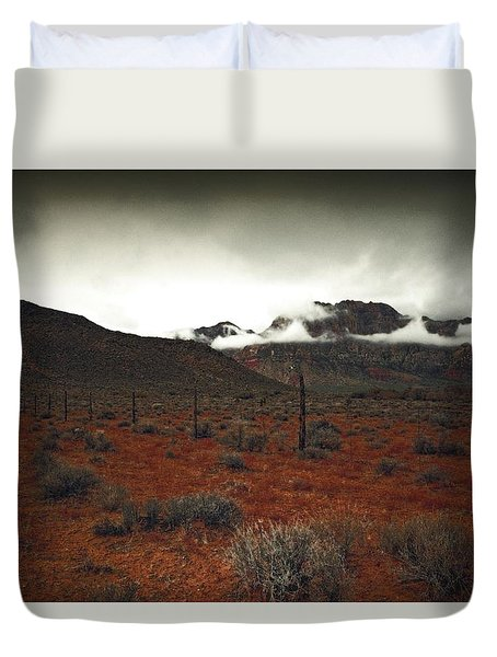 Duvet Cover featuring the photograph Song by Mark Ross