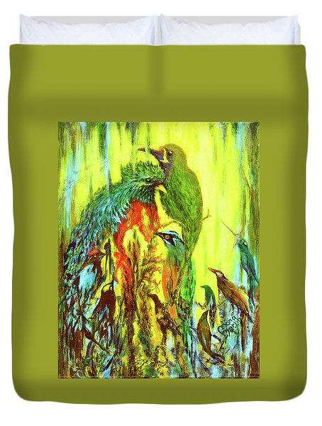 Song Of Costa Rica Duvet Cover