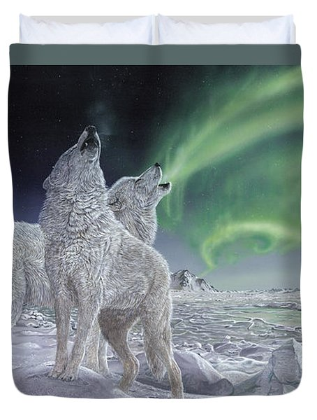 Song Of Ice Duvet Cover