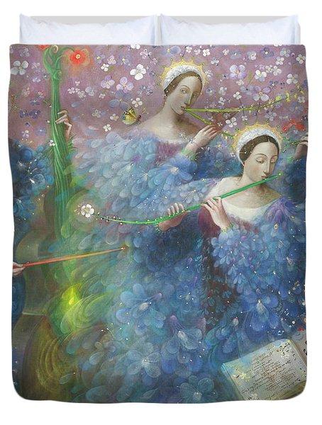 Song Of The Goddess Natura Duvet Cover