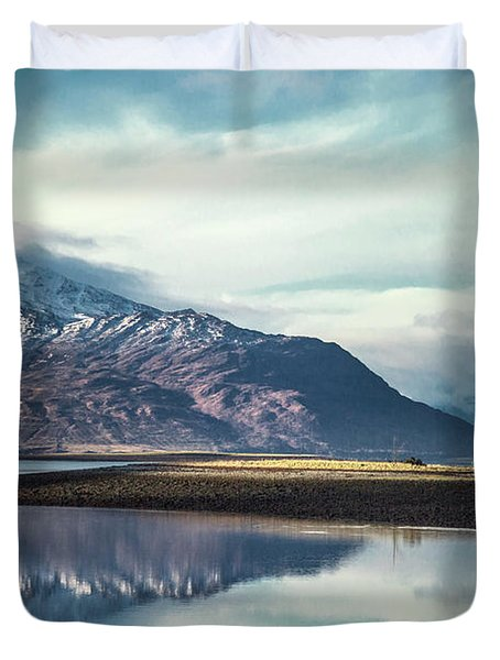 Song Of The Mountain Duvet Cover