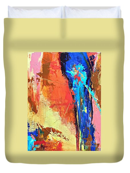 Song Of The Water Duvet Cover