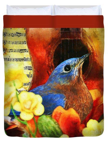 Songbird Duvet Cover