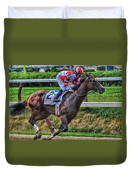 Songbird W Mike Smith Duvet Cover