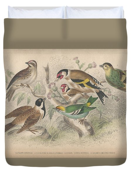 Songbirds Duvet Cover by Dreyer Wildlife Print Collections