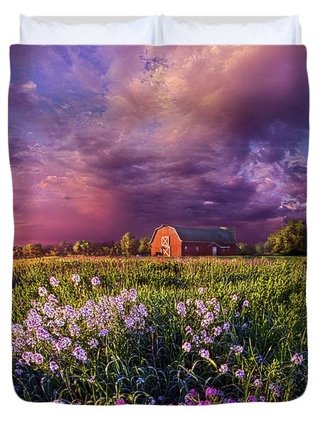 Songs Of Days Gone By Duvet Cover by Phil Koch