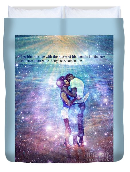 Songs Of Solomon Duvet Cover
