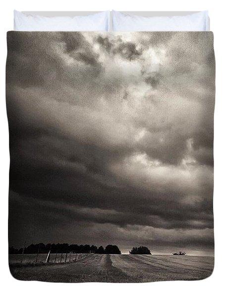 Sonnenwolkendunkel Duvet Cover