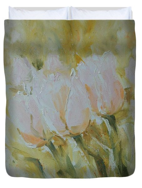 Sonnet To Tulips Duvet Cover