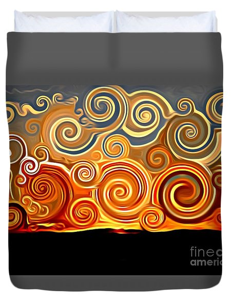Sonora Sunrise  Duvet Cover