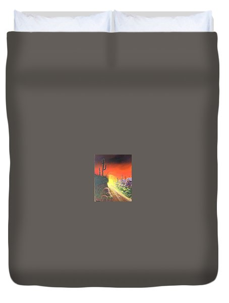 Sonora Sunrise Duvet Cover