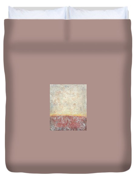 Sonoran Desert #2 Southwest Vertical Landscape Original Fine Art Acrylic On Canvas Duvet Cover