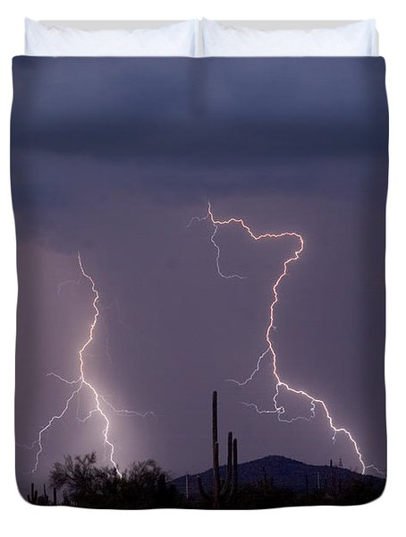 Sonoran Storm Duvet Cover by James BO  Insogna