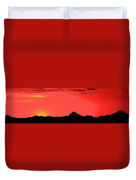 Sonoran Sunset  Duvet Cover