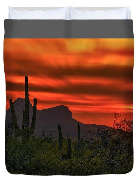 Sonoran Sunset H38 Duvet Cover