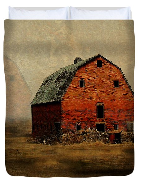 Soon To Be Forgotten Duvet Cover by Julie Hamilton