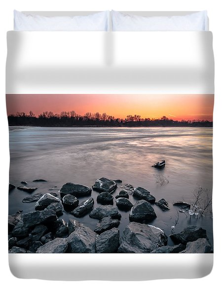 Soon To Be Frozen Duvet Cover