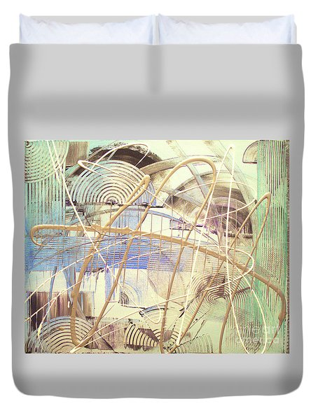 Soothe Duvet Cover by Melissa Goodrich