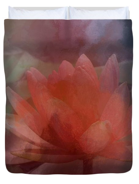Soothing Waters Duvet Cover by Renee Trenholm