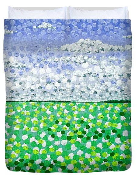 Sophia's Landscape Duvet Cover by Alan Hogan