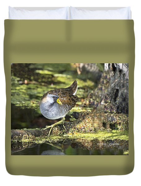 Sora Rail Duvet Cover
