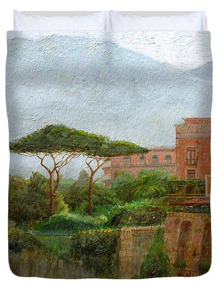 Sorrento Albergo Duvet Cover