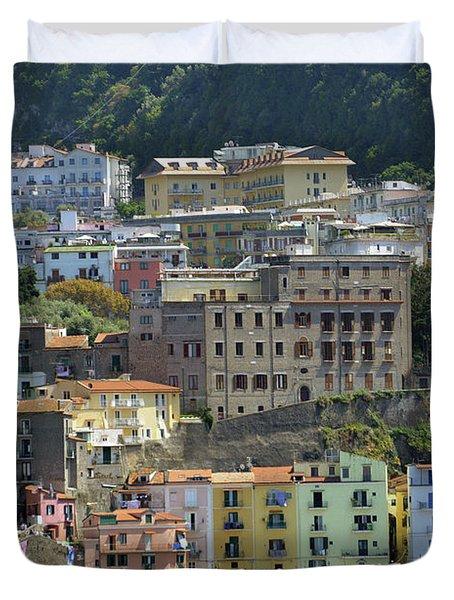 Capri's Marina Piccola Duvet Cover