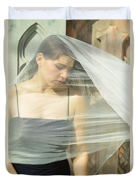 Sorrow Duvet Cover by Pamela Patch