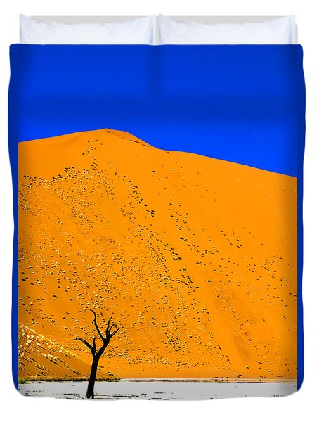 Sossusvlei Tree Duvet Cover