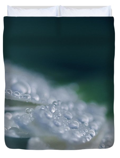 Duvet Cover featuring the photograph Soul Blossoms  by Sharon Mau
