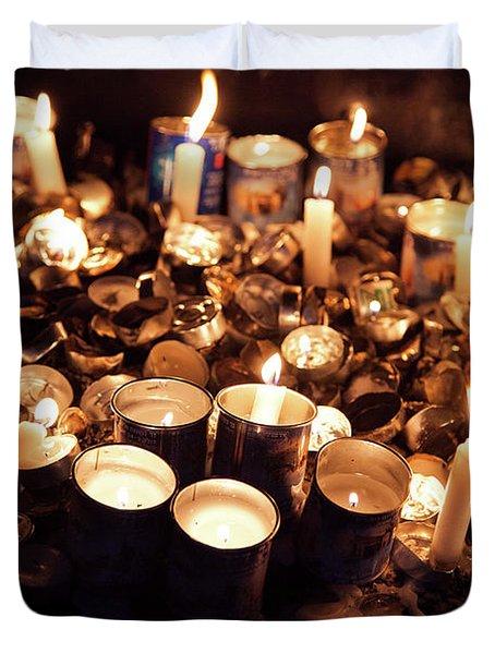 Soul Candles Duvet Cover