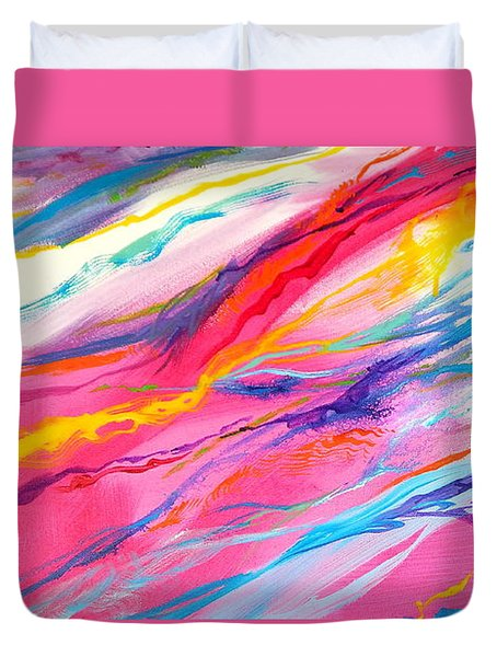 Soul Escaping Duvet Cover