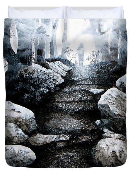 Soul Journey Duvet Cover