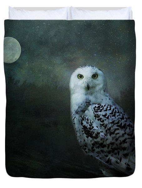 Soul Of The Moon Duvet Cover