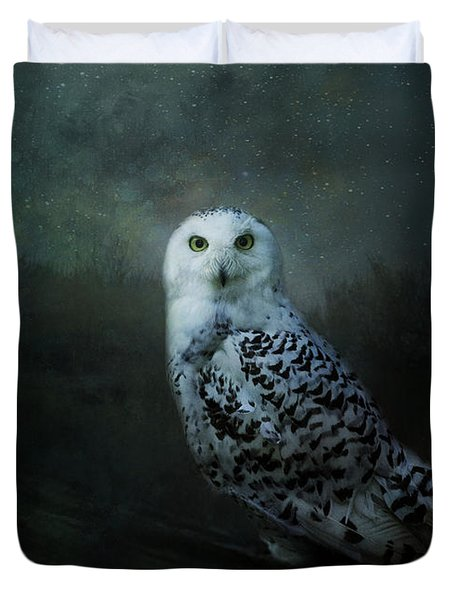 Soul Of The Moon Duvet Cover