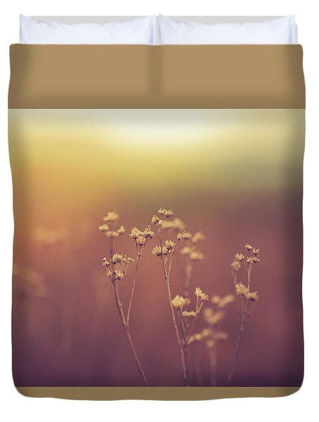 Duvet Cover featuring the photograph Souls Of Glass by Shane Holsclaw