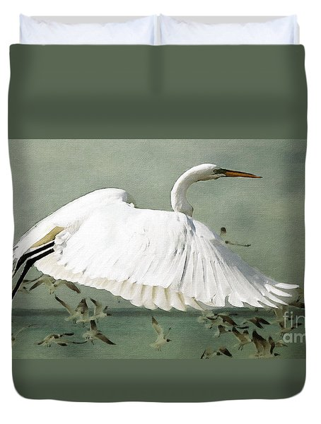 Souls Take Flight ... Duvet Cover