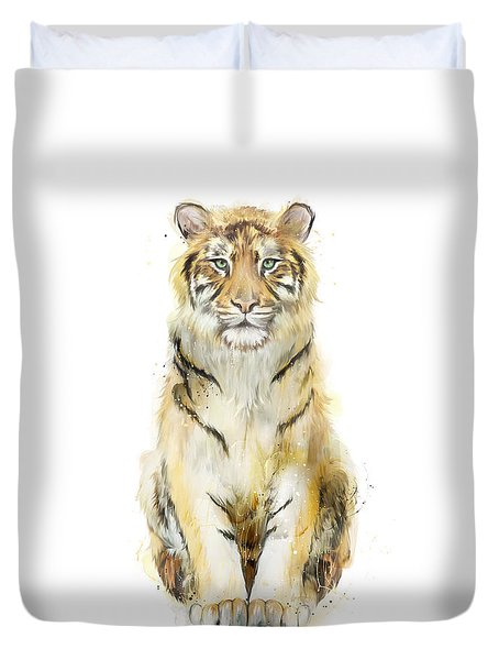Sound Duvet Cover by Amy Hamilton