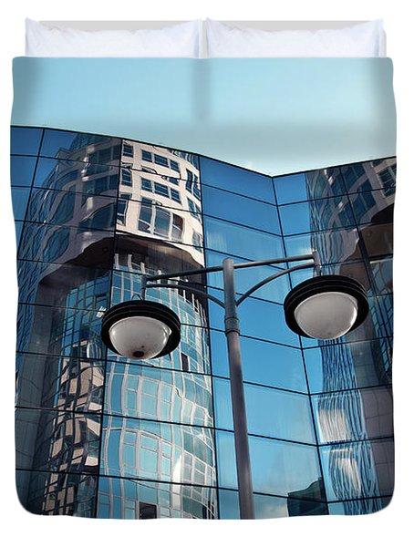 Sound Of Glass Duvet Cover