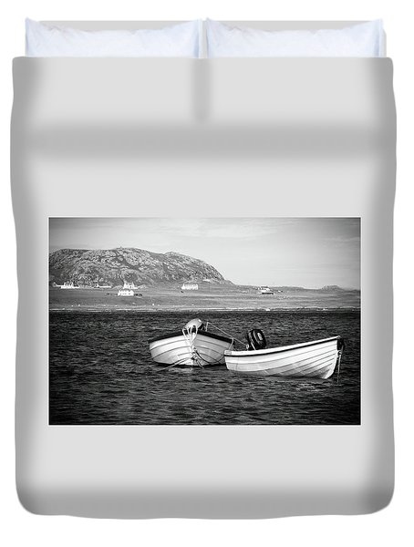 Sound Of Iona Duvet Cover by Ray Devlin